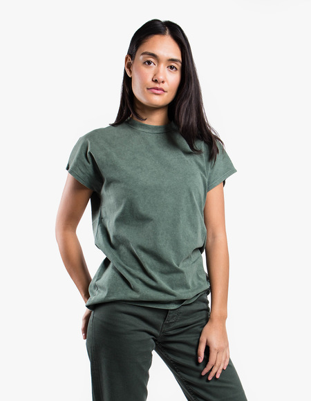 Won Hundred Proof Acid tee - Forse Green