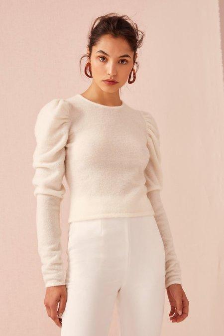 Keepsake What If Knit Top - Ivory