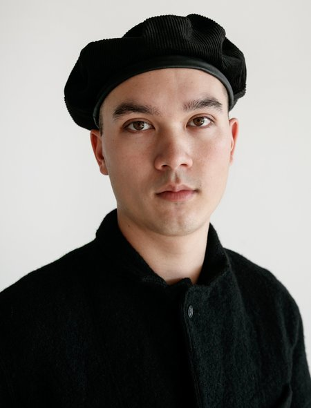 Engineered Garments Corduroy Beret - Black