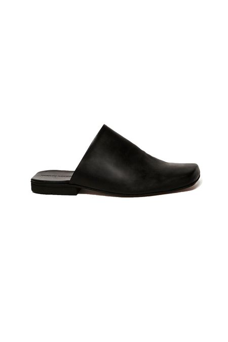 Parme Marin Square Toed Mules