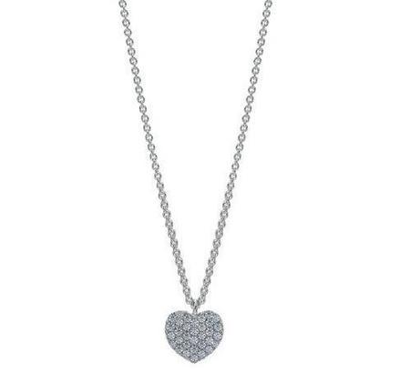 Diamond Dream Signature Collection Heart Necklace - White Gold