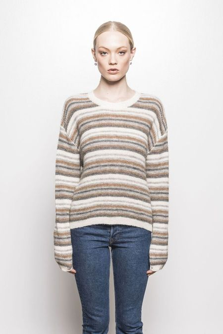 Line Piper Sweater - Beige