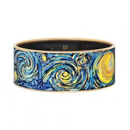 FreyWille Hommage A Vincent Van Gogh Bordered Bangle Donna - Eternite