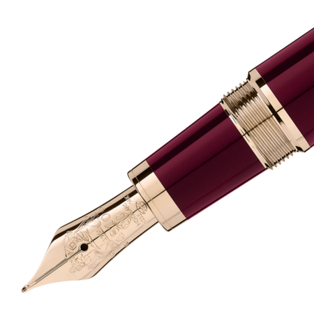 Montblanc John F. Kennedy Special Edition Fountain Pen - Burgundy