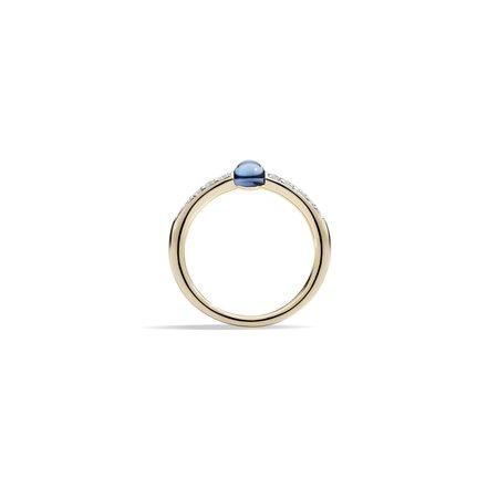 Pomellato M'ama Non M'ama Blue Topaz Ring