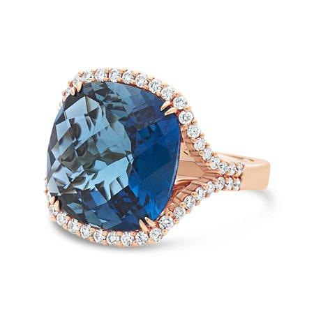 Diamond Dream Signature Collection Ring - Rose Gold