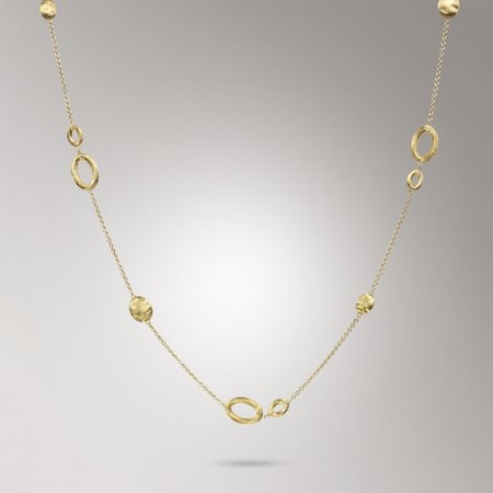 "Marco Bicego Siviglia 18"" Necklace - 18k Yellow Gold"