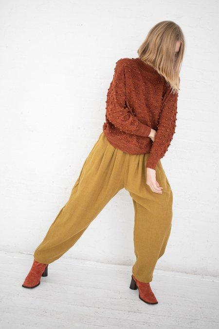 Misha & Puff Popcorn Sweater - Terracotta