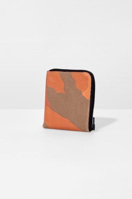 Ampersand As Apostrophe Camo Half Zip Wallet