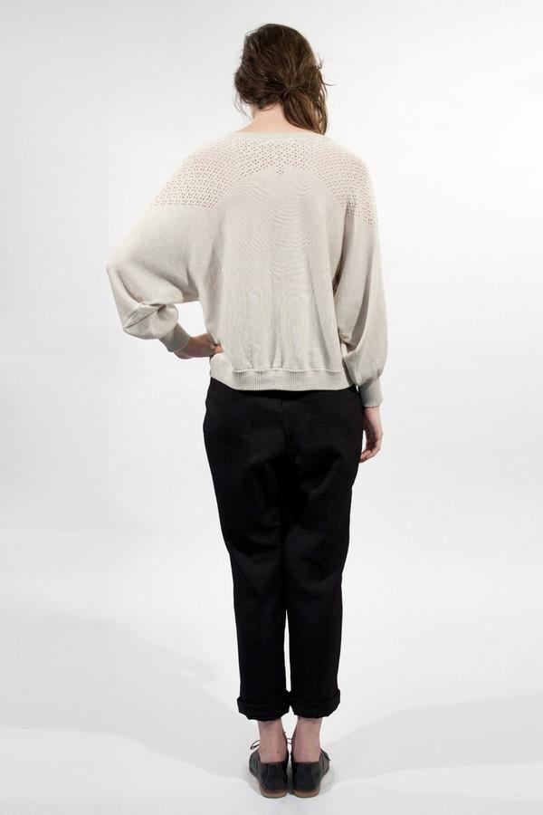 Micaela Greg Diamond Lace Sweater