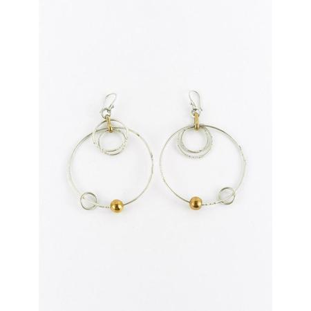 Ombre Claire System Solaire Hoop Earrings