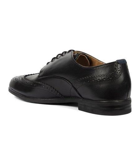 Hudson London Aylesbury Leather Brogue - Black
