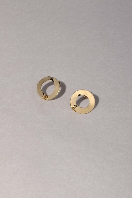 Anne Thomas Ouros Earrings - 18k Gold Filled