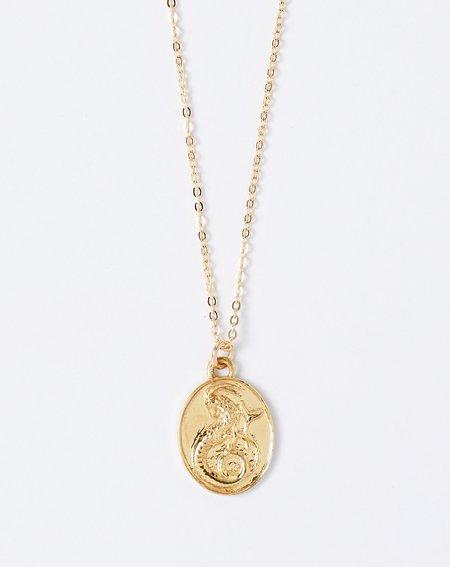 Talon Capricorn Zodiac Necklace