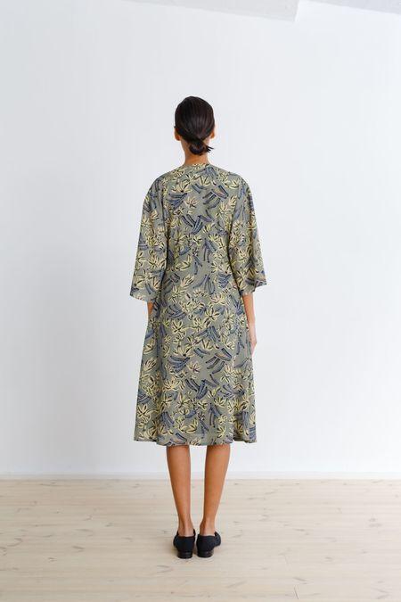 Samuji Felicity Dress - Green/Yellow/Light Blue