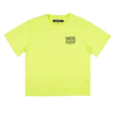 MISBHV Hardcore Pleasure 2018 T-Shirt - Yellow