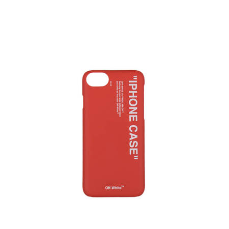OFF-WHITE iPhone 8 Quote Case - Red