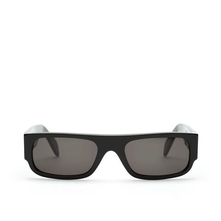 Super Sunglasses Smile Sunglasses - Black