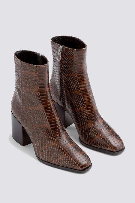 aeydē Leandra Snake Print Boot