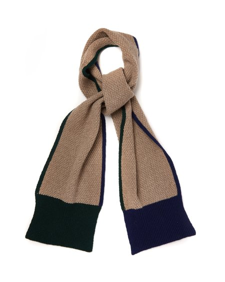Country of Origin Honeycomb Scarf - Oatmeal