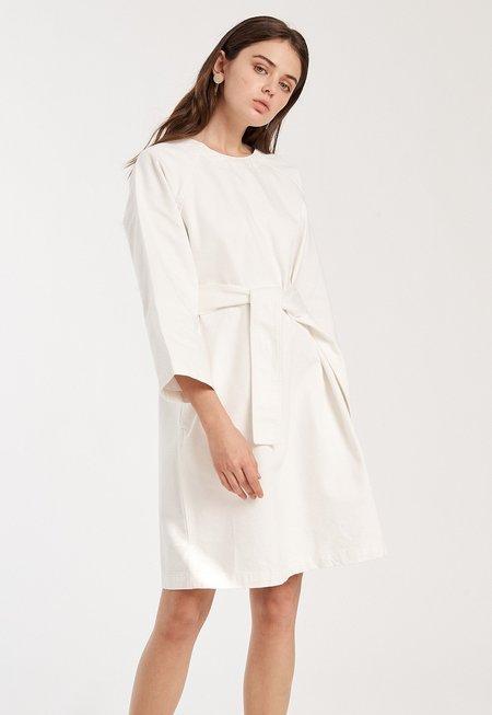 Kowtow Technique Dress - White
