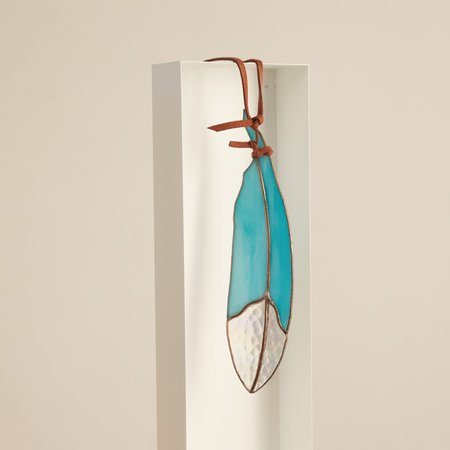 Colin Adrian Classic Stained Glass Feather