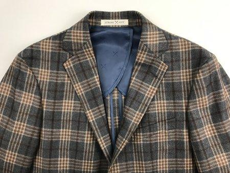 Strong Suit Vantage Sportcoat - Grey Plaid