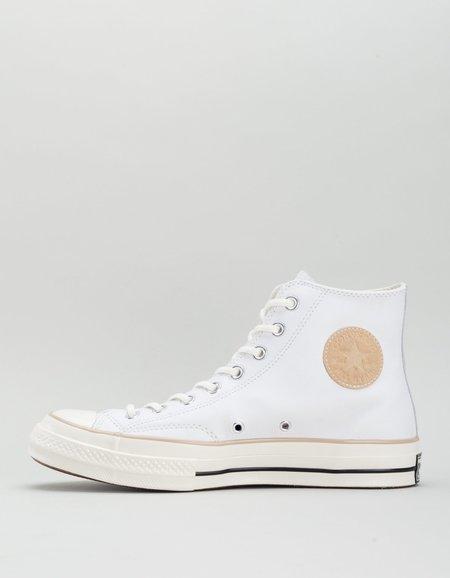 Converse Chuck 70 Hi - White/Light Fawn/Egret