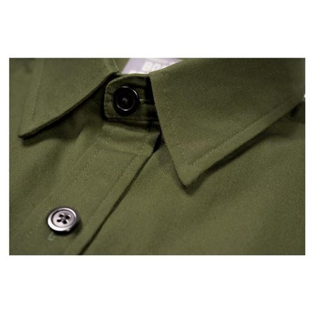 Product of Bob Scales WORK SHIRT - OLIVE GREEN