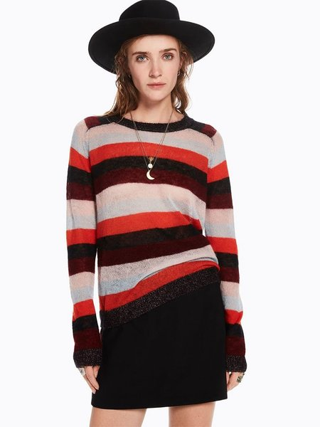 Maison Scotch Mohair Knit - Stripe