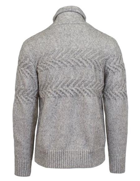 Schott Pullover Shawl Collar Sweater