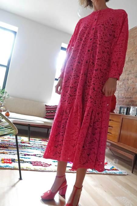 Mr. Larkin Nadine Dress - Fuschia