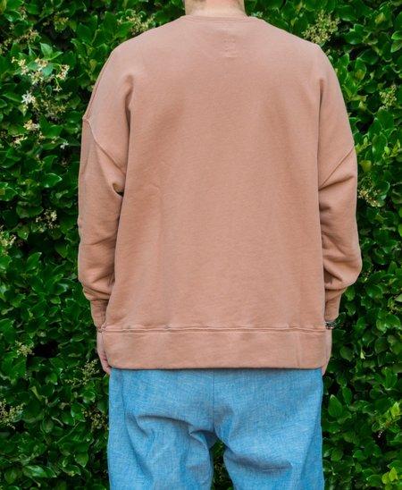 Prospective Flow HAN Oversized Sweatshirt - Brick