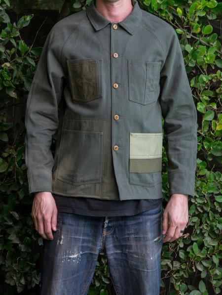Knickerbocker Mfg. Co. x Hamid Holloman Patchwork Chore Coat