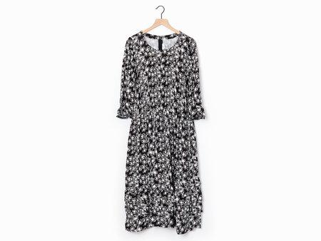 Comme des Garçons Floral Dress - Black/White