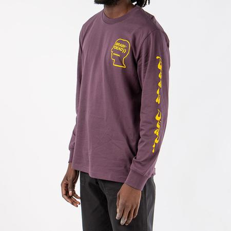 Converse Incubate x Brain Dead Long Sleeve T-shirt - Dusk Purple