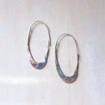 Marisa Mason Osina Earrings - Silver