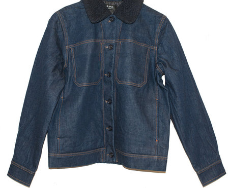 A.P.C Veste Steffie Jacket - Denim