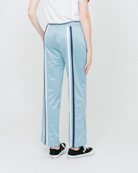 Stussy Pantalón Rory Striped Track Pant - Light Blue