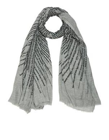 Faliero Sarti Feelings Scarf - GREY