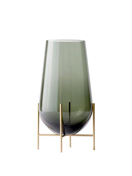 Creative Danes Small Echasse Vase - Smoke