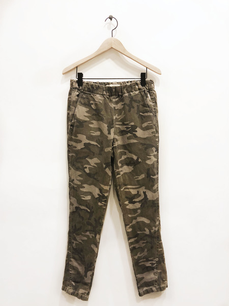 AMO Pull-On Slouch Trouser - Warm Grey Camo