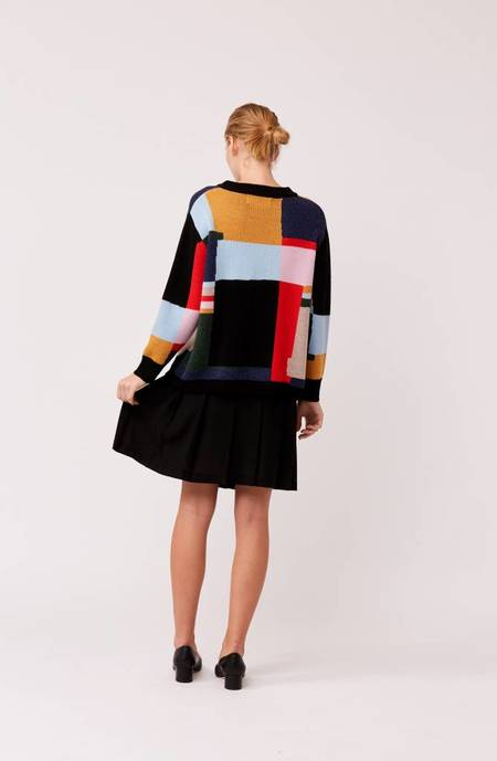 L.F.Markey Benjamin Knit Jumper - Multi Color