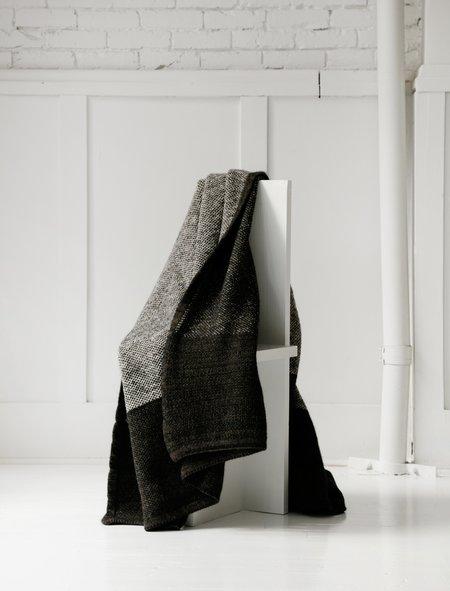 Stephan Schneider Waffle Knit Blanket - Light/Dark