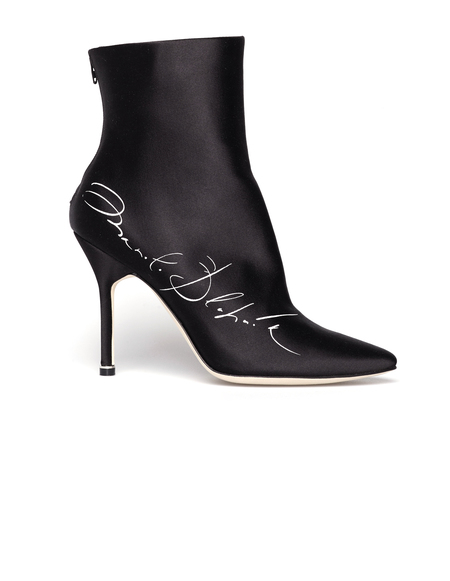 Vetements x Manolo Blahnik Ankle Boots