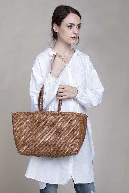 Dragon Diffusion Grace Basket Big Bag - Tan