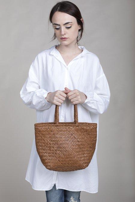 Dragon Diffusion Grace Basket Small Bag - Tan