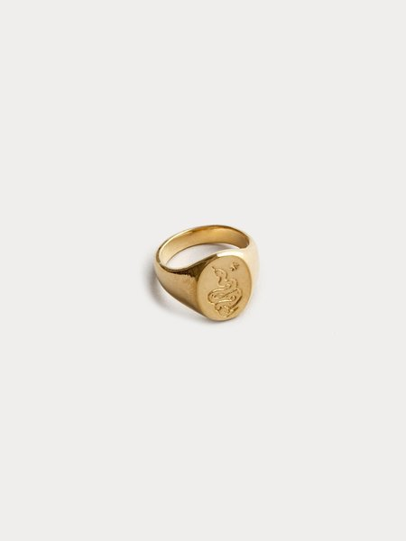 Wolf Circus Ophidian Ring - Gold