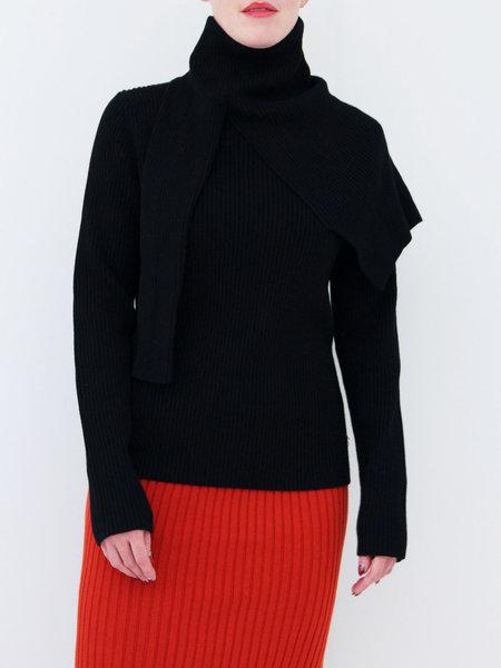 ffiXXed Studios Sweater Scarf Knit - Black
