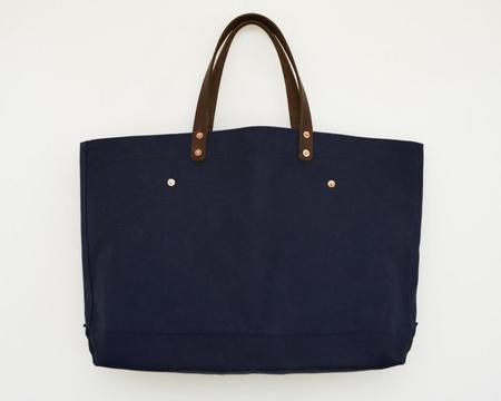 Apron & Bag Canvas Tote - Navy